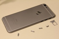 Задняя крышка iPhone 6S (gray) AAA