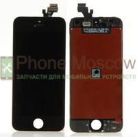 Дисплей iPhone 5 (черный) копия (ААА)