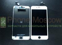 Дисплей iphone 6 PLUS (белый) копия (ААА)